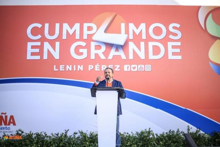 Lenin Pérez, el Alcalde mejor calificado de Coahuila.