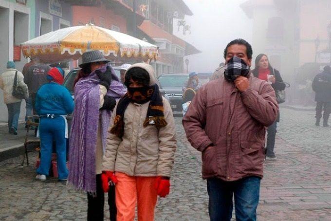 Esperan temperaturas bajo cero en 21 estados del país