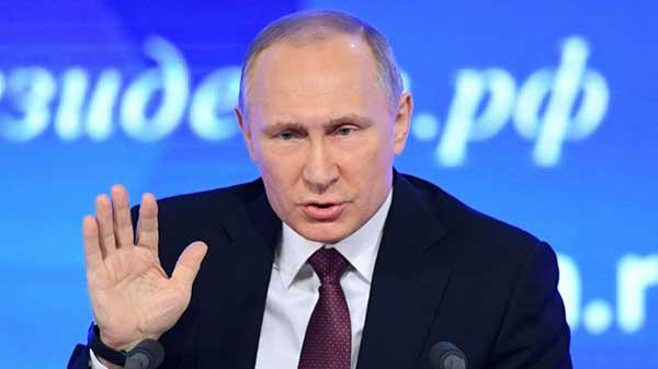 Va de nuevo Vladimir Putin .