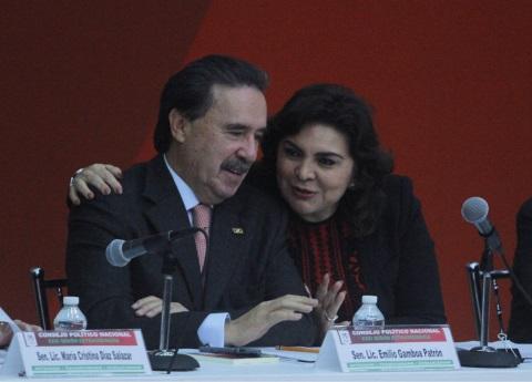 Ivonne Ortega noquea a Emilio Gamboa con el destape en Yucatán
