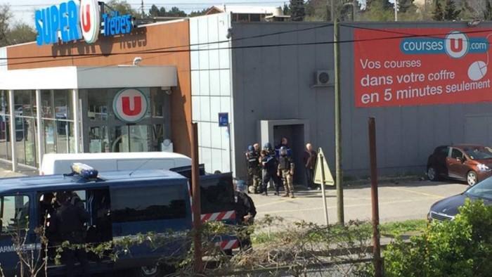 Al menos dos muertos en Francia durante la toma de un supermercado
