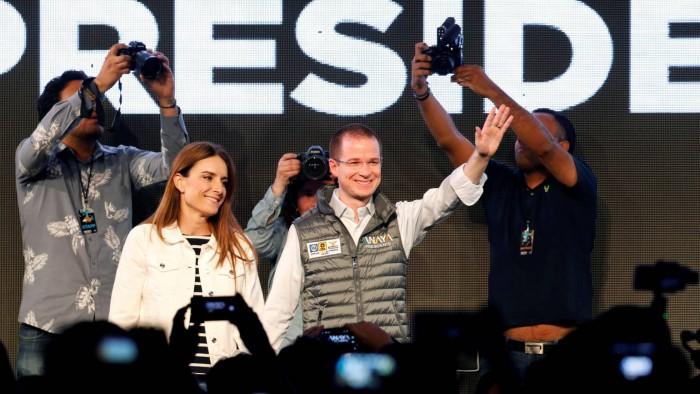 Los candidatos conservadores arrancan la campaña electoral mexicana