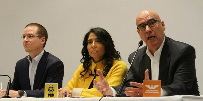 Coalición Por México al Frente exige a PGR avances en caso de presuntos desvíos de Meade