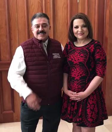Diputada de Jalisco  deja a  Meade se va a  Morena
