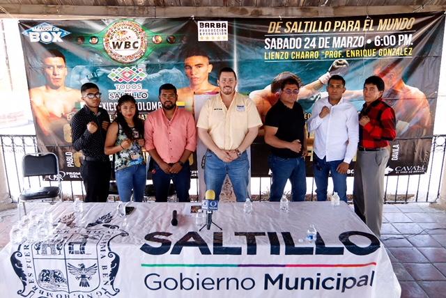 Define Deporte Municipal detalles para el Sábado de Box en Saltillo