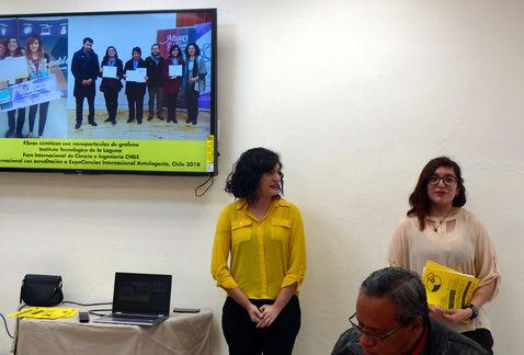 Diana Quiroz invitada a los nobel por su trabajo con grafeno