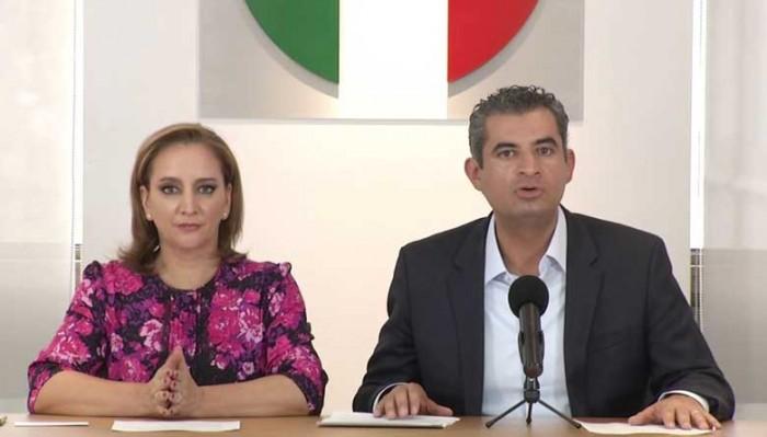 Ruiz Massieu, Osorio Chong , Enrique Ochoa y Mancera en las listas plurinominales