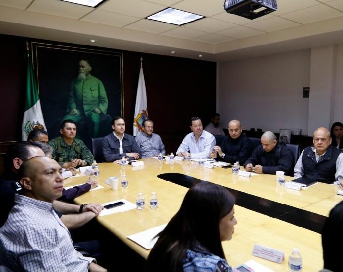 Reconoce Manolo trabajo en equipo con Estado y Federación, por la seguridad