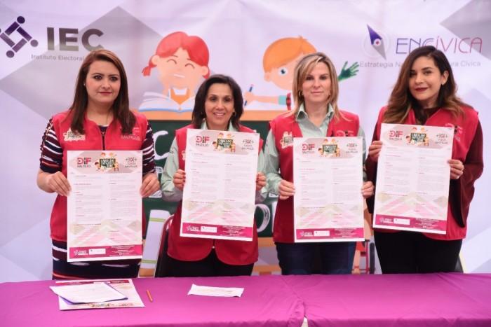 Presenta DIF Saltillo convocatoria para el Cabildo Infantil 2018