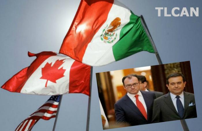 López Obrador y Anaya aseguran la continuidad del equipo negociador en el TLC si llegan a la presidencia