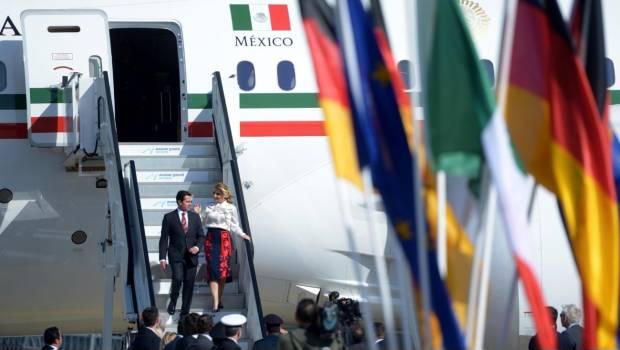 Peña Nieto llega a Hannover para inaugurar la feria de tecnología más importante del mundo