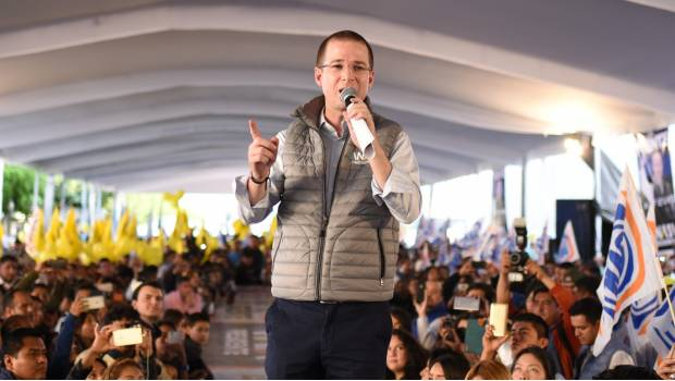 Advierte Anaya que candidatos morenistas en Puebla son gente de Mario Marín