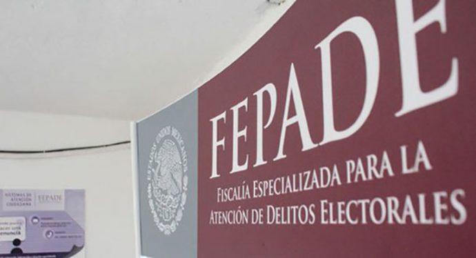 Llama Fepade a denunciar todo acto que atente contra el voto