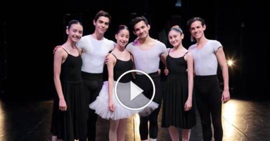 Van bailarines Mexicanos al Gran Prix de ballet de Nueva York