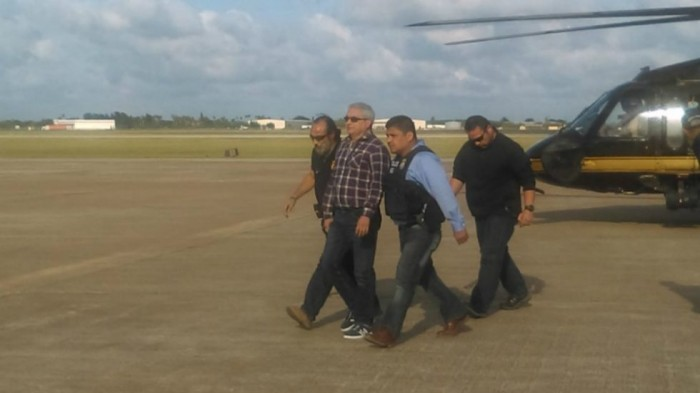 Arriba Tomás Yarrington a Texas tras extradición a EU