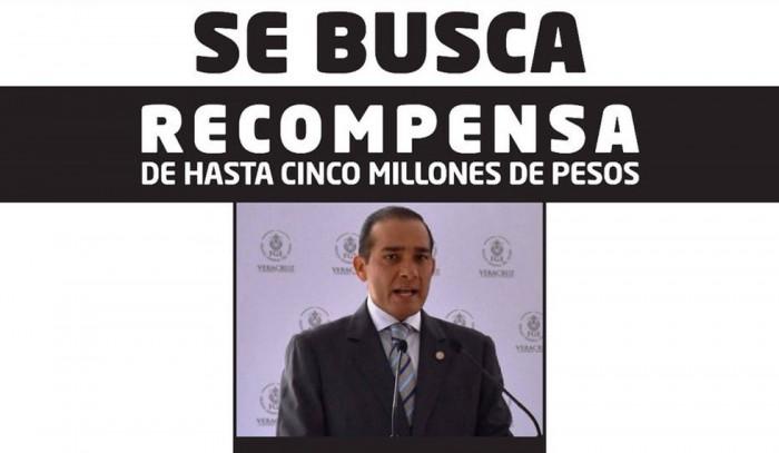 En búsqueda y captura, el exfiscal del Gobierno de Duarte en Veracruz