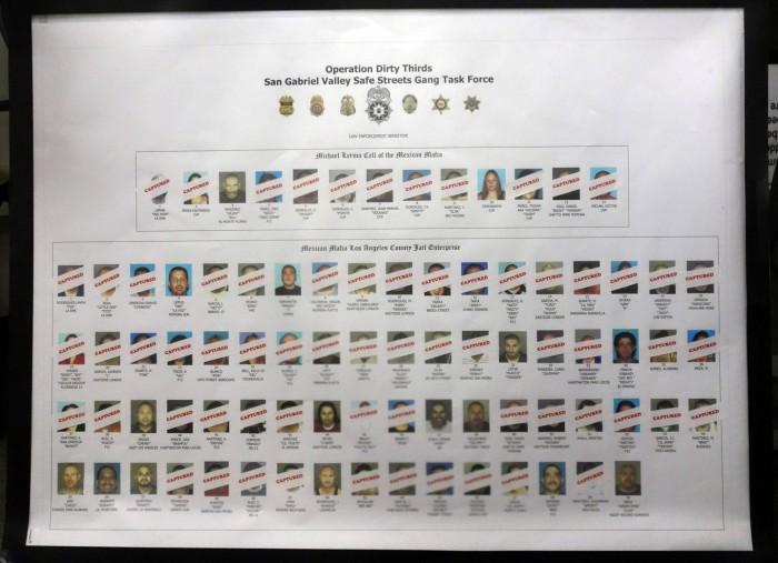 """Decenas de detenidos en Los Ángeles en una operación contra la Mafia Mexicana, la """"banda de las bandas"""""""