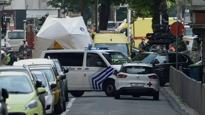Abatido un hombre tras matar a dos policías y un transeúnte en Lieja