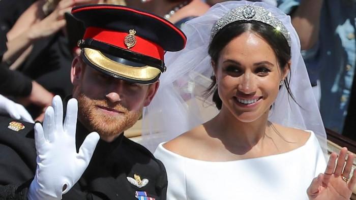La boda real entre Meghan Markle y Enrique de Inglaterra.