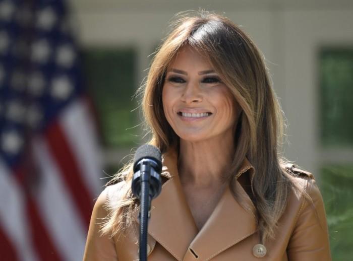 Dan de alta a la primera dama Melania Trump