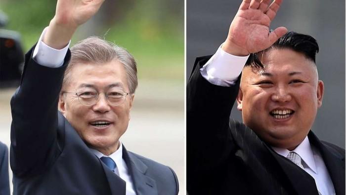 Kim Jong-un y Moon Jae-in comparten detalles de su reunión