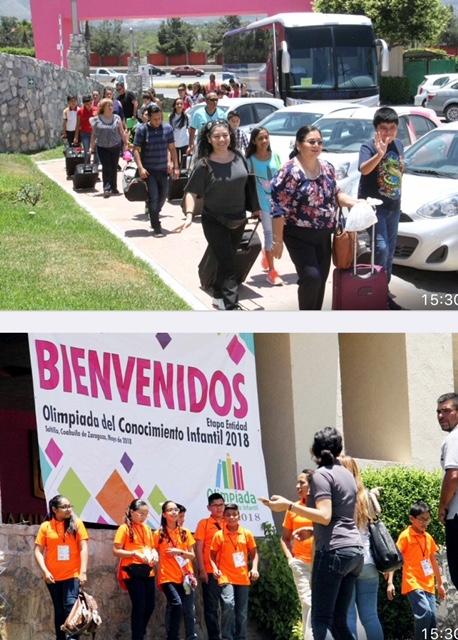 158 ALUMNOS MÁS INTELIGENTES DE COAHUILA BUSCAN EN SALTILLO PASE A FINAL NACIONAL