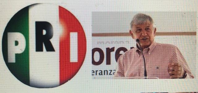 Negocia AMLO protección para el PRI
