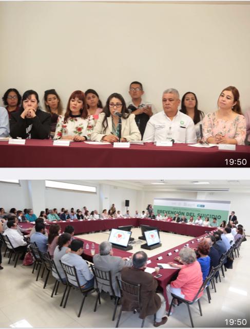 INSTITUTO NACIONAL DE PSIQUIATRÍA PARTICIPA EN ACCIONES CONTRA SUICIDIO EN COAHUILA