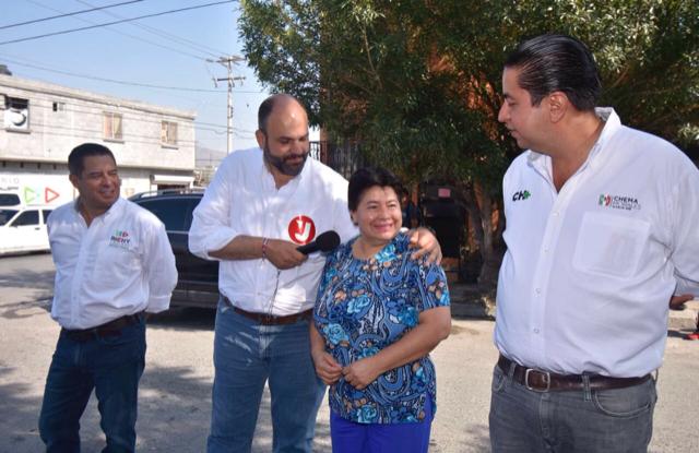 JERICÓ, RICHY Y CHEMA RECORREN JUNTOS LA FIDEL VELÁZQUEZ