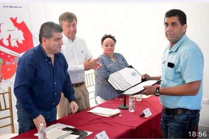 ANUNCIA GOBERNADOR RESTABLECIMIENTO DEL PROYECTO PARA LA PRESA ROMPEPICOS EN PIEDRAS NEGRAS