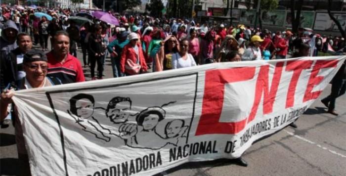 CNTE se irá a paro nacional indefinido a partir del 4 de junio