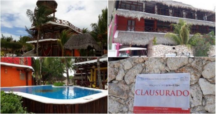 Clausuran construcción de proyecto hotelero en Isla Holbox