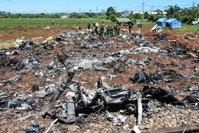 Muere segunda sobreviviente de avionazo en Cuba; suman 112 víctimas