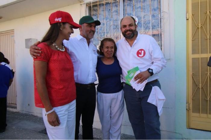 MANTIENE JERICÓ SU RITMO INCANSABLE DE CAMPAÑA