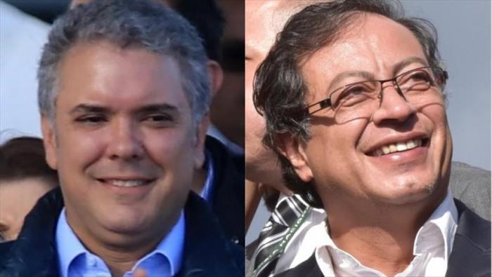 Elecciones en Colombia a segunda vuelta