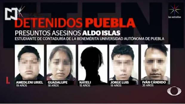 Caen presuntos asesinos de estudiante de la BUAP; uno de ellos era su compañero de clase