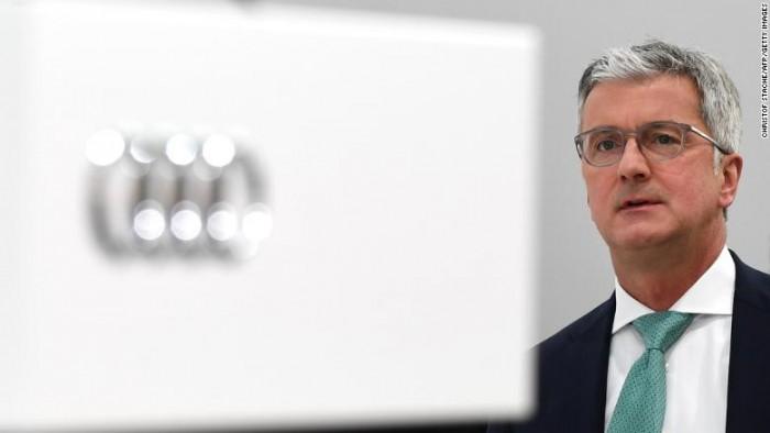 Detenido el presidente de Audi por el caso 'diéselgate' en Alemania