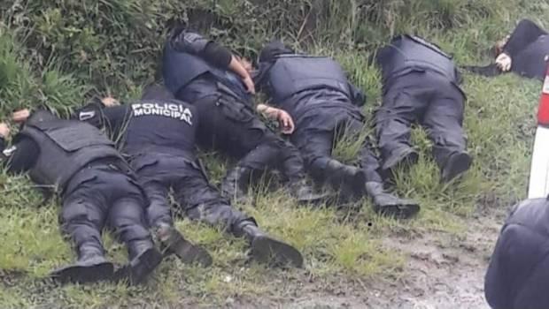 Huachicoleros matan a seis policías durante enfrentamiento en Puebla