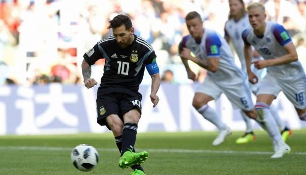 Argentina empata contra Islandia; Messi falla el penal de la victoria