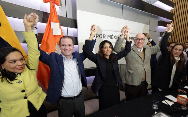 Ninguna encuesta seria da oportunidad al PRI de salir del tercer lugar, afirma Por México al Frente