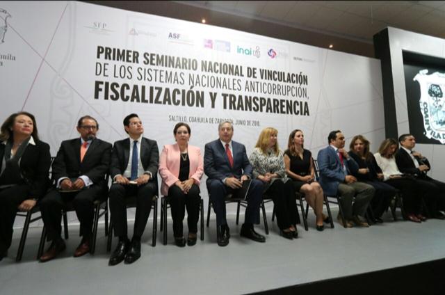25 ESTADOS PARTICIPARON EN EL PRIMER SEMINARIO NACIONAL DE VINCULACIÓN DE LOS SISTEMAS NACIONALES ANTICORRUPCIÓN, FISCALIZACIÓN Y TRANSPARENCIA