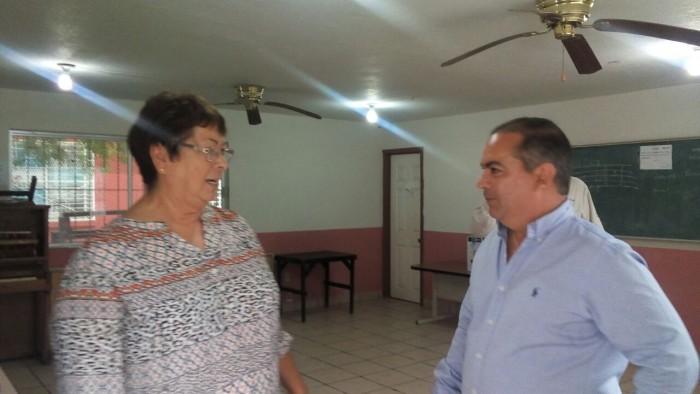 CONOCE ALCALDE NECESIDADES DE LA CASA DE LA CULTURA.