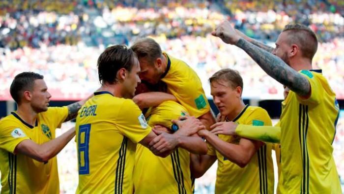 Gana Suecia a Corea del Sur 1-0
