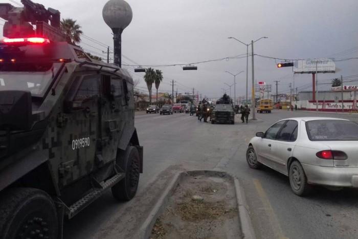 Enfrentamiento entre miembros del Cártel del Golfo deja muertos, persecuciones y bloqueos viales