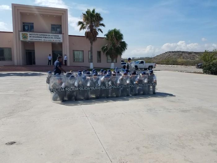 Continúa Academia de Policía con la formación de 120 cadetes