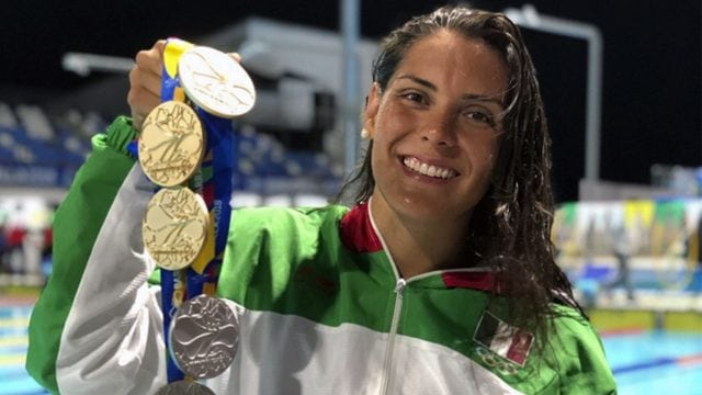 Fernanda González hace historia al convertirse en la máxima medallista de los JCC