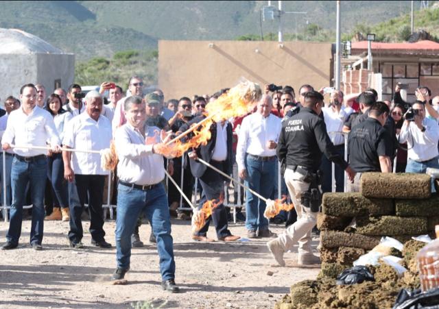 COAHUILA, EJEMPLO A SEGUIR EN MATERIA DE SEGURIDAD: MIGUEL RIQUELME