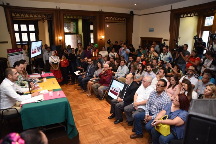 Presenta Manolo Jiménez el Festival Internacional de Cultura Saltillo 2018