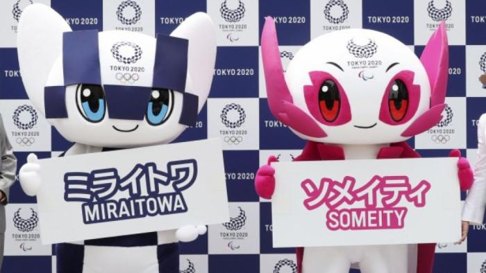 Presentan a Miraitowa y Someity, las mascotas de los Juegos Olímpicos 2020