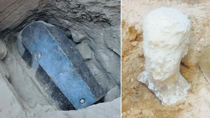 Encuentran Misterioso sarcófago de hace 2 mil años que podría ser la tumba de Alejandro Magno